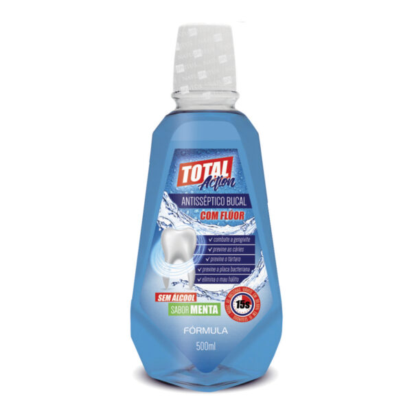 Antisséptico Bucal Total Action 500ml