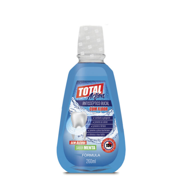 Antisséptico Bucal Total Action Fórmula 260ml