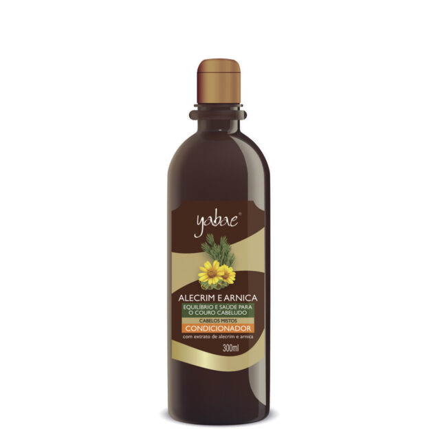 Condicionador Yabae Alecrim e Arnica 300ml - Vegan Friendly