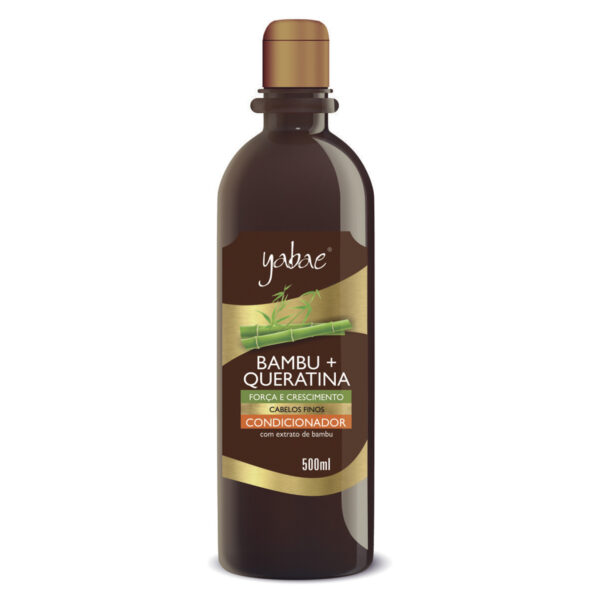 Condicionador Yabae Bambu + Queratina 500ml - Vegan Friendly
