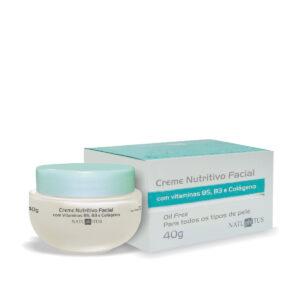 Creme Nutritivo Facial com Vitaminas B5, B3 e Colágeno 40g