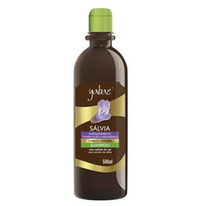 Shampoo Yabae Sálvia 500ml - Vegan Friendly