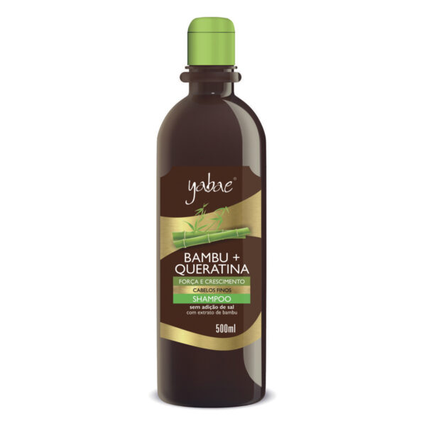 Shampoo Bambu + Queratina 500ml - Vegan Friendly