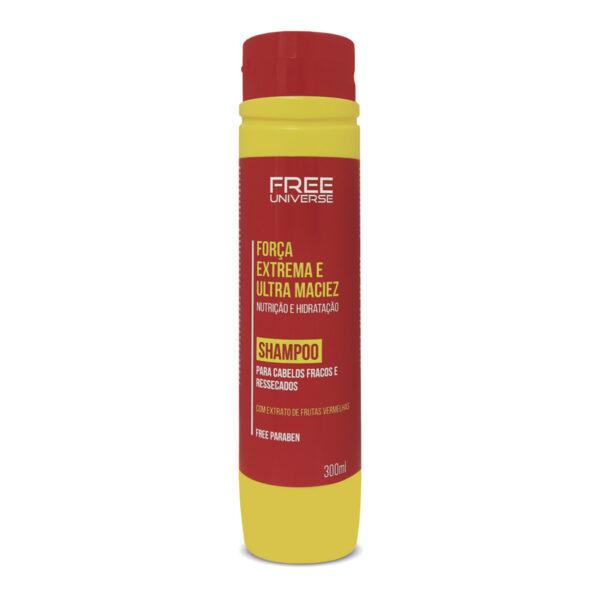 Shampoo Força Extrema e Ultra Maciez 300ml