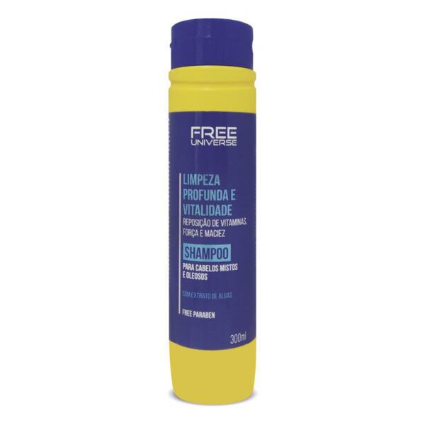 Shampoo Limpeza Profunda e Vitalidade 300ml