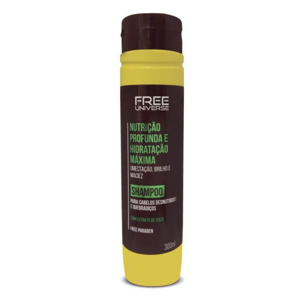 Shampoo Nutrição Profunda e Hidratação Máxima 300ml