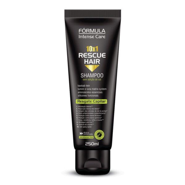 Shampoo Reconstrutor Rescue Hair 10 x 1 – 250ml
