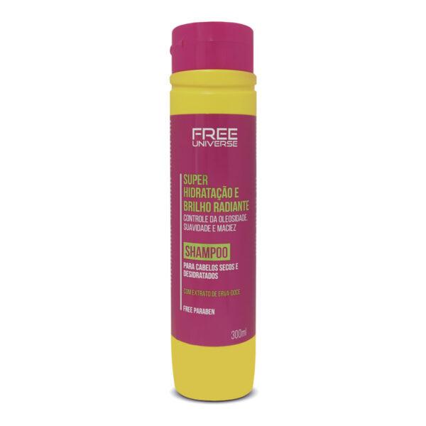 Shampoo Super Hidratação e Brilho Radiante 300ml