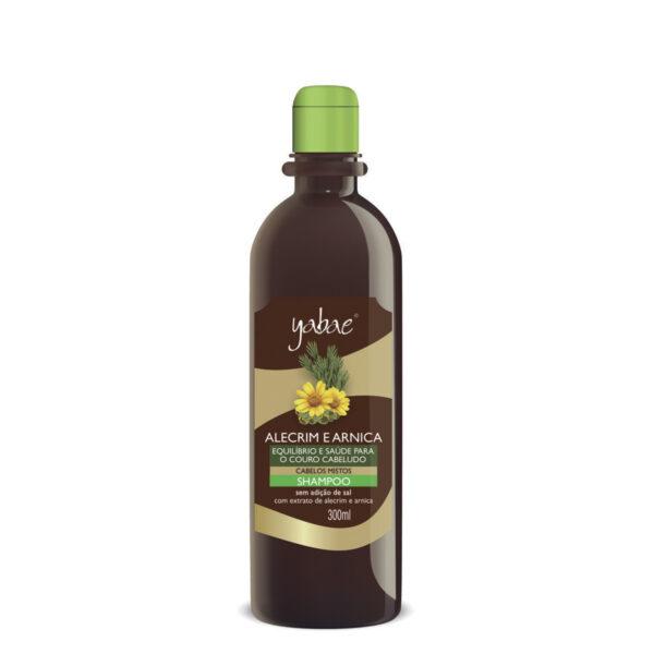 Shampoo Yabae Alecrim e Arnica 300ml - Vegan Friendly
