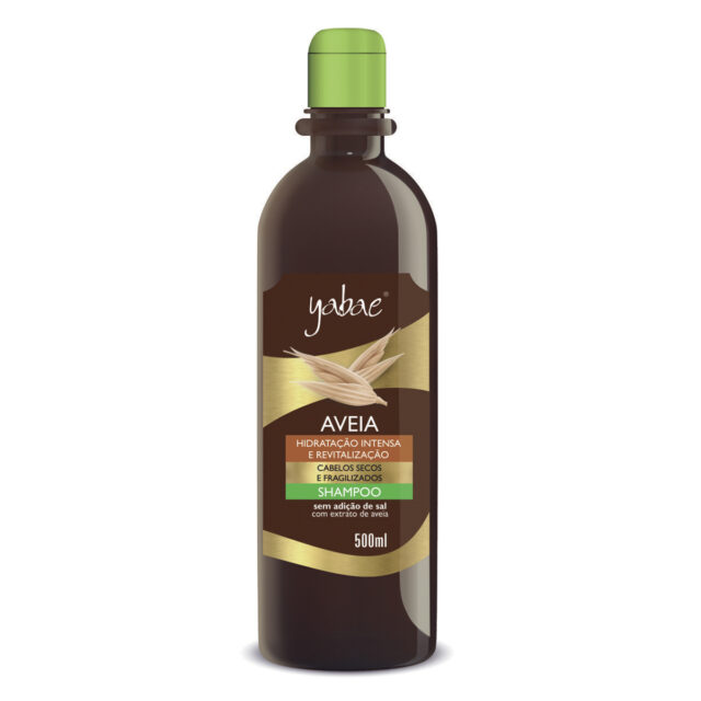 Shampoo Yabae Aveia 500ml - Vegan Friendly