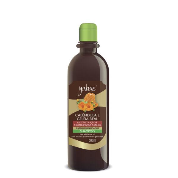 Shampoo Yabae Calêndula com Geleia Real 300ml