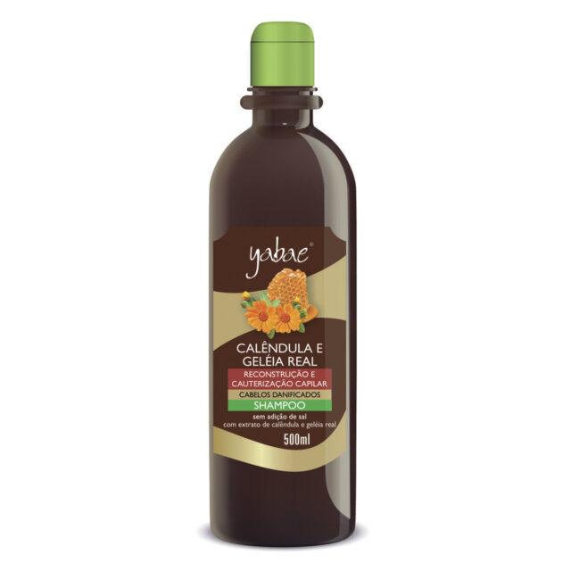 Shampoo Yabae Calêndula com Geleia Real 500ml