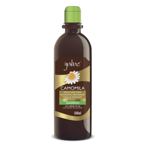 Shampoo Yabae Camomila 500ml - Vegan Friendly