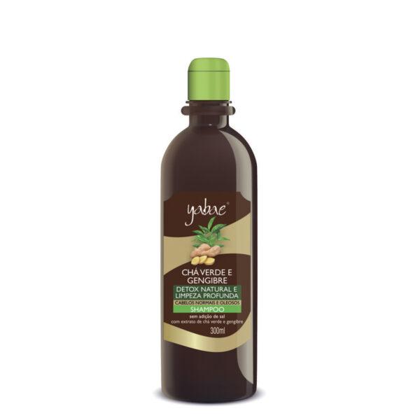 Shampoo Yabae Chá Verde com Gengibre 300ml - Vegan Friendly