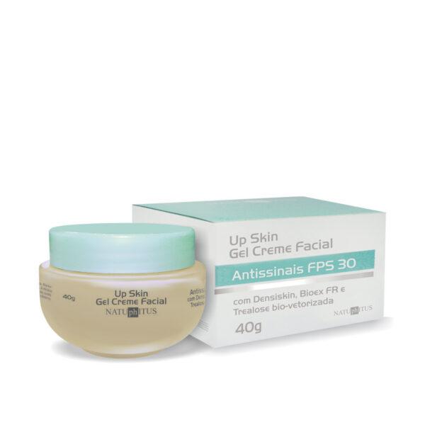 Up Skin Gel Creme Facial Antissinais FPS 30 - 40g