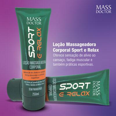 Loção Sport Relax Mass Doctor